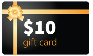 $10 referral gift Cards